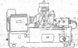 Шлицефрезерный полуавтомат 5350, 5350А, 5350Б, 5350В