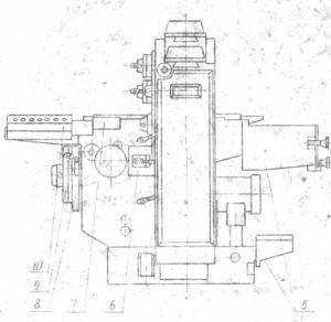 Станок фрезерный двухшпиндельный ВФ92