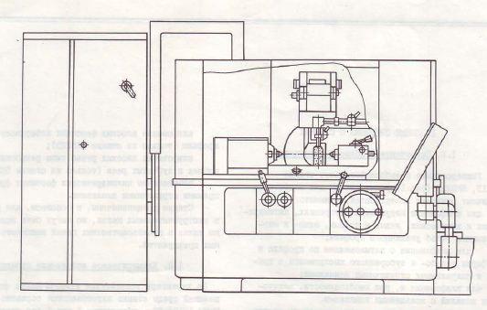 Станок резбошлифовальный универсальный 5К821В, 5К822В